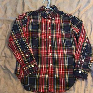 Chaps Boys button down shirt size 8
